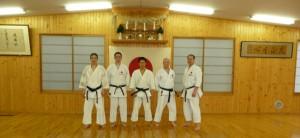 Trainer Shotokan Kyokai Berlin im JKA Headquarters