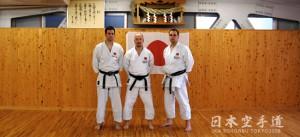 Trainer Shotokan Kyokai Berlin im JKA Sohonbu_2008