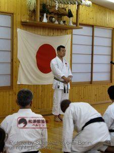 Ueki Shihan, Shuseki Shihan JKA