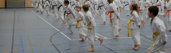 JKA Shotokan Karate – Training für Kinder