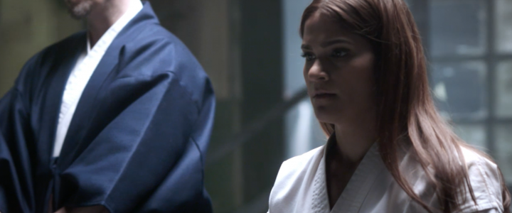 Shotokan Kyokai Berlin Andrea & Chis Ishi in a commercial