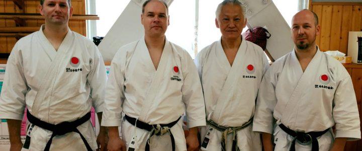 Sensei Inoue Mitsuo 8.Dan JKA Karate