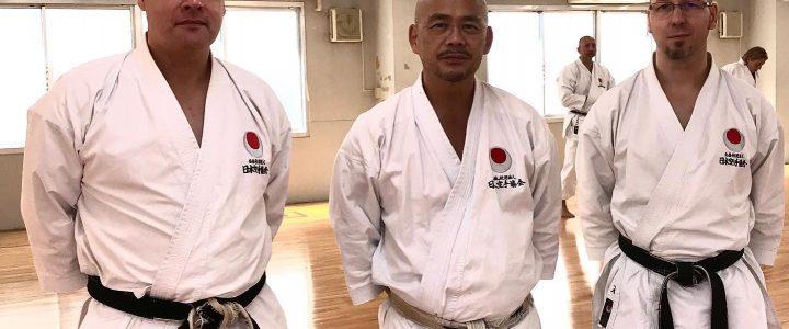 JKA Onlinetraining mit Izumiya Sensei, Managing Director JKA 14.11