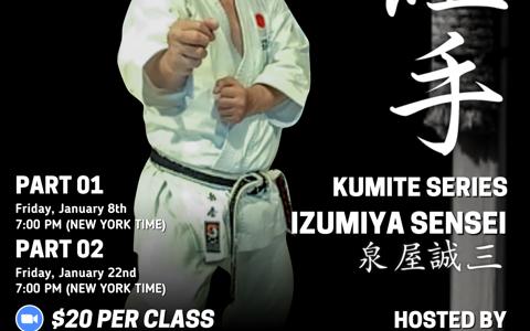 JKA Kumite Series mit Izumiya Sensei