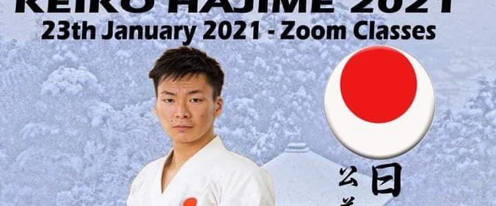 Online Keiko Hajime mit JKA Instructor Ryota Osato 23.01.2021