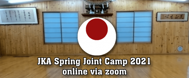 JKA Spring Joint Training Camp (online) 10.04.2021